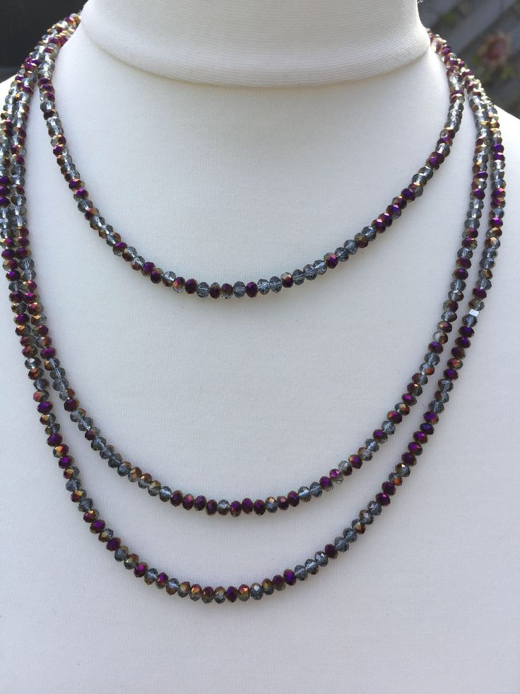 A personal favourite from my Etsy shop https://www.etsy.com/uk/listing/560874939/stunning-sparkly-long-necklace-amethyst