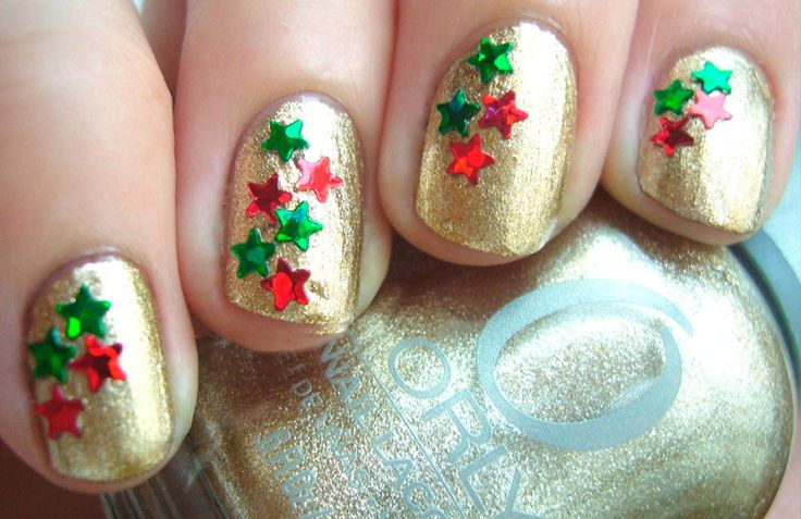 Manicura Navideña, nuestras uñas se visten de fiesta