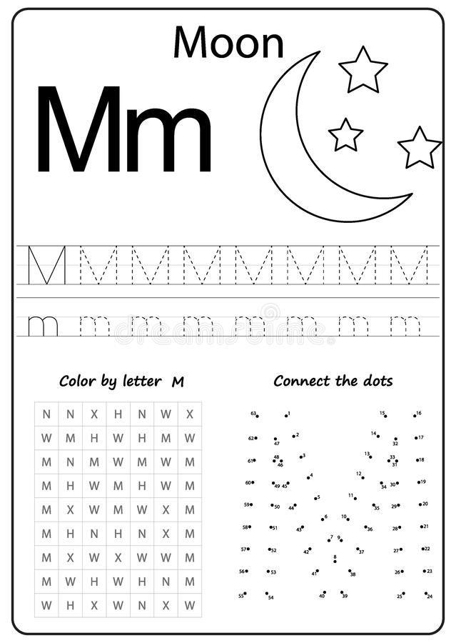 Writing Letter M Worksheet Writing A Z Alphabet Exercises Game For Kids Alphabet Writing Practice Writing Worksheets Kindergarten Letter Writing Worksheets Kindergarten worksheets letter m