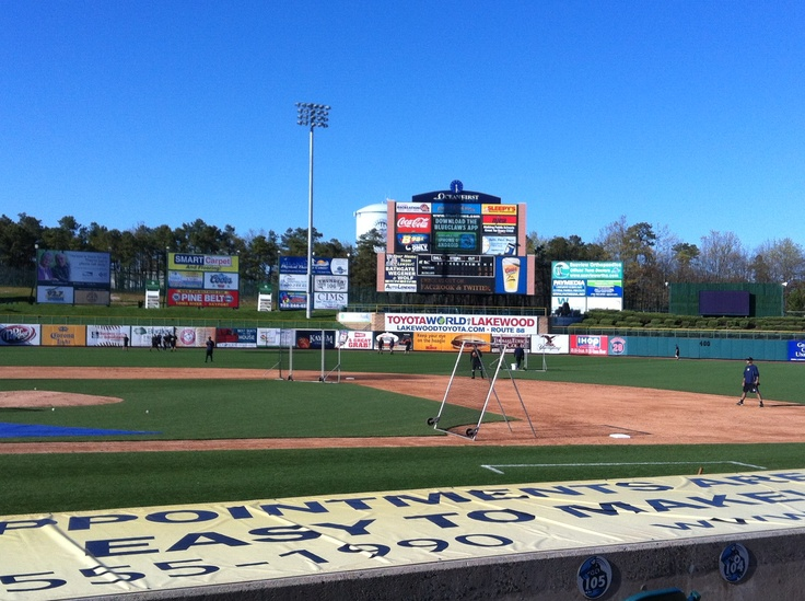 Lakewood BlueClaws First Energy Stadium