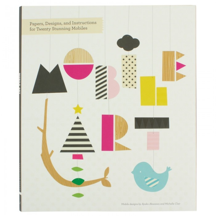 Chronicle Books Mobile Art Book, $23. Find this and more Gift Guides at SmallforBig.com #kids #toys #christmas #books #crafts