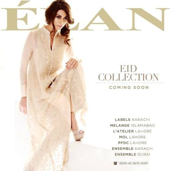 Women Collection 2013 by Elan for Eid-Ul-Fitr