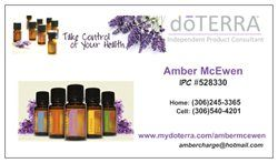 My doTERRA business cards