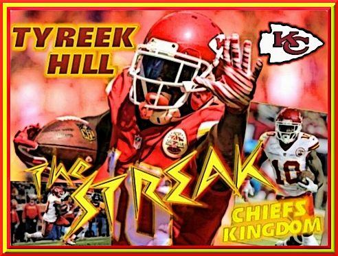 Tyreek The Streak Hill