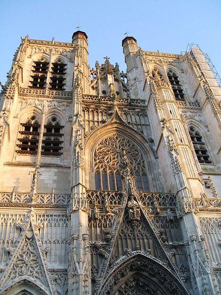 Saint Vulfran Cathedral Abbeville France