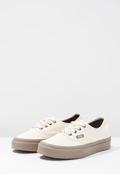 Vans AUTHENTIC - Sneakers - cream/walnut - Zalando.dk