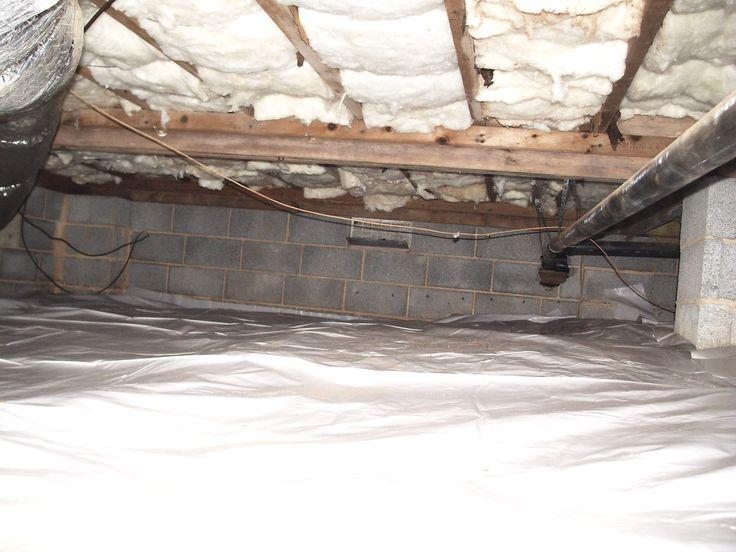 32 best insulation images on pinterest for Floor joist insulation