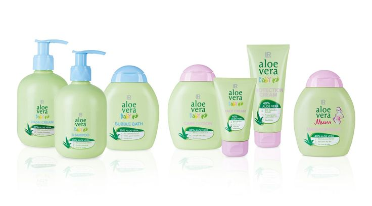 LR Launch Aloe Vera Baby Packaging Design Kosmetik