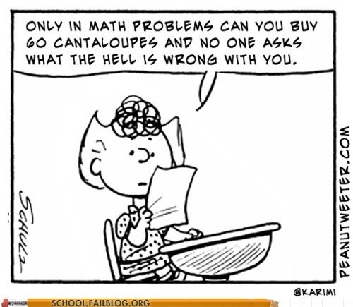 Word Problems = dumb.: Laughing, Math Problems, Peanut, Quotes, Giggl, Words Problems, Funny Stuff, So True, Smile
