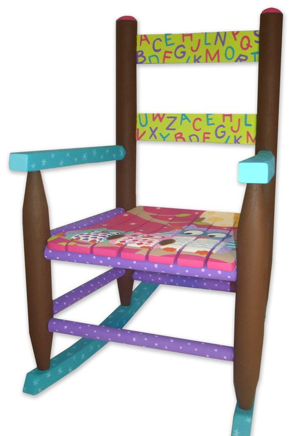 43 Best Images About Painted Child S Chair With Artistic
