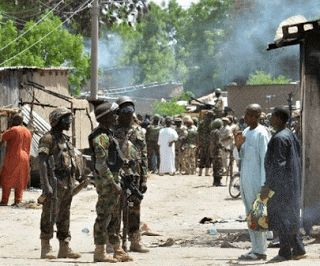 Gist At Your Doorstep: Nigerian troops, Boko Haram clash in army chief's ...