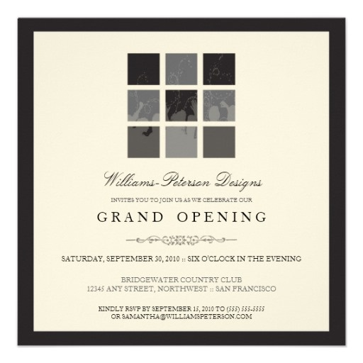 21 best images about Invitations – Grand Opening Party Invitations