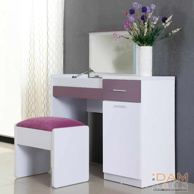 A white dressing table ne stylish design