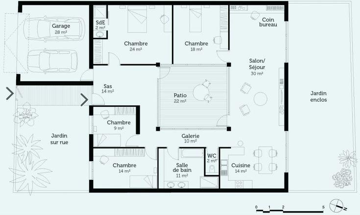 Plan Maison Gratuit 4 Chambres 33 Plan Maison Gratuit 4 Chambres