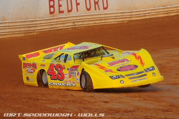 #43A Jason Covert at Bedford Speedway, PA