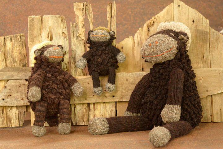 Shamba Sheep - Natural Brown