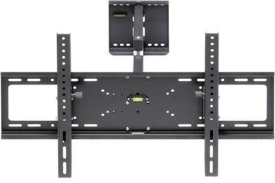 <p> Dieser TV-Wandhalter bietet Ihnen eine praktische Befestigungsmöglichkeit für Ihren Fernseher. Gefertigt aus Metall ist er <b> besonders stabil </b> und für besseren Komfort <b> neigbar </b>  und <b> schwenkbar </b> und so ganz Ihren Bedürfnissen anpassbar.