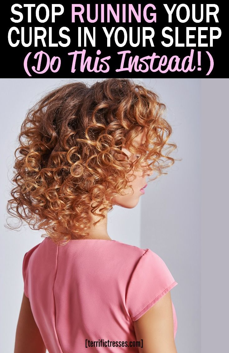 Every Curly Girl Needs To Know About Pineappling Hair It S A Proven While You Sleep Curl Saver Curly Hair White Girl Curly Hair Overnight Wavy Hair Overnight