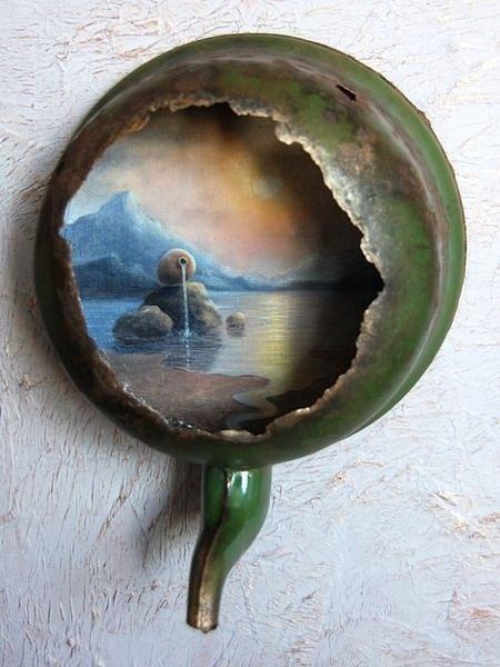 Любовь Зубова - Пролив в ржавом чайнике