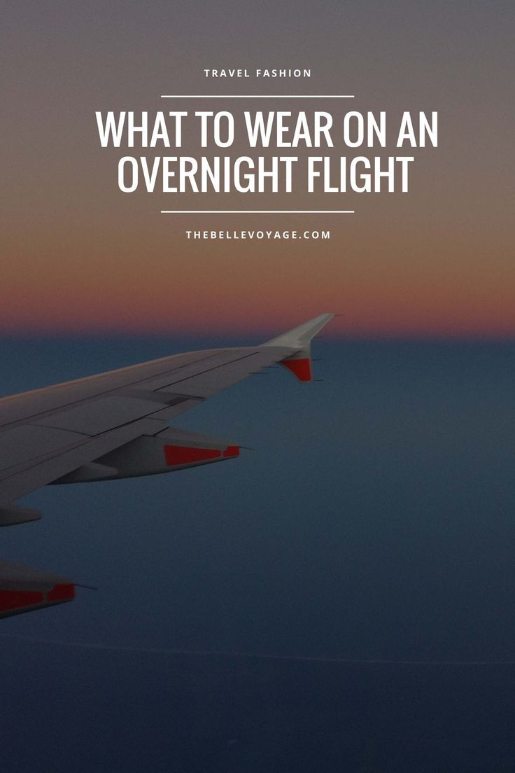 The Perfect Red Eye Flight Outfit | The Belle Voyage | overnight flight outfit…