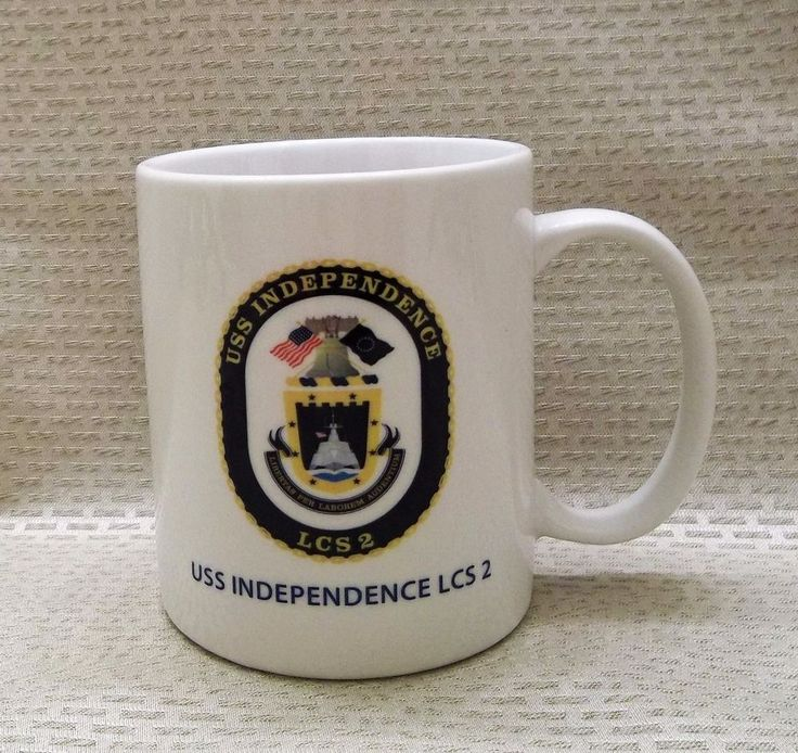 USS Independence (LCS 2) Commissioning Coffee Mug January 2010 Cup Mobile AL
