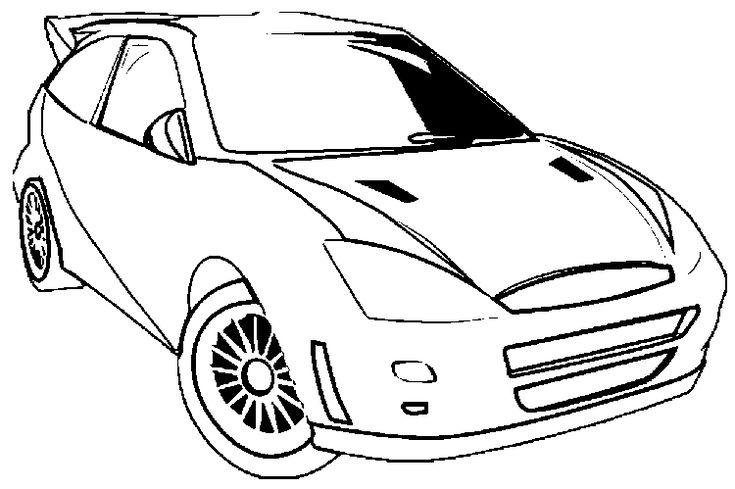 Pinterest'teki en iyi 156 Araba Boyama Sayfaları-Car