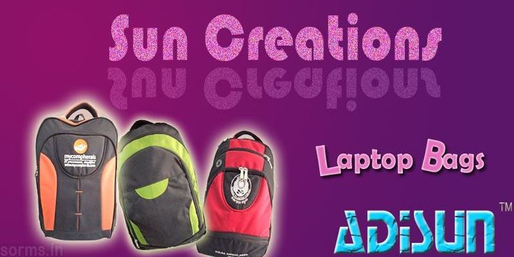 Sun Creations supply the best of bags in various varieties keeping the market competitive price in sight. we introduce ourselves as the leading manufacturer and supplier of Travel Bags, School Bags, College Bags, Laptop Bags, Backpack Bags, Complimentary Bags & many more. Our products are manufactured with utmost precision using optimum grade raw material, to enhance products excellence.