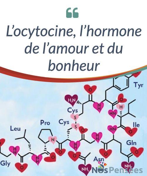 L'ocytocine, l'hormone de l'amour et du bonheur  L'ocytocine est une hormone qui remplit plusieurs fonctions, que nous ne #connaissons cependant pas toutes avec #précision. On sait, par exemple, qu'il s'agit de l'hormone qui nous connecte aux autres, qui nous injecte cette force donnant forme à l'affection, à la #reproduction et à l'allaitement, ainsi qu'à l'amour sous toutes ses formes et nuances.  #Psychologie