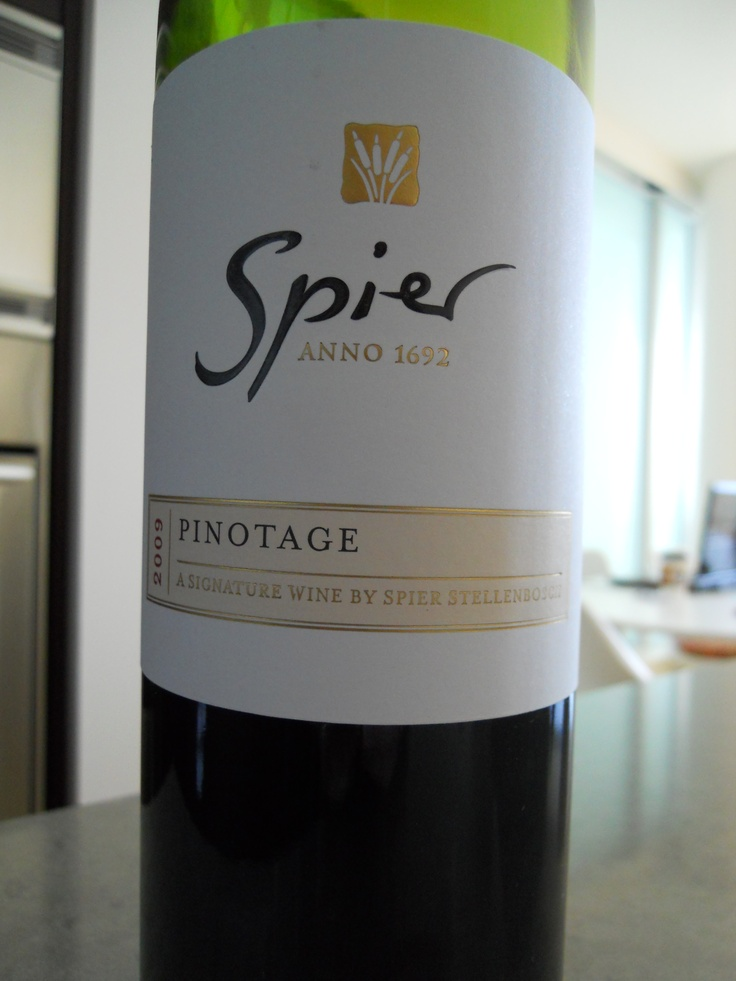The Signature wine, Spier 2009 Pinotage, is distinctive with its strong sense of heritage.