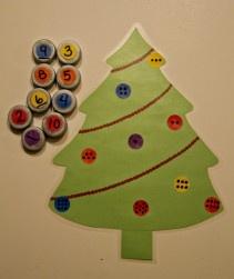Love this holiday math craft.