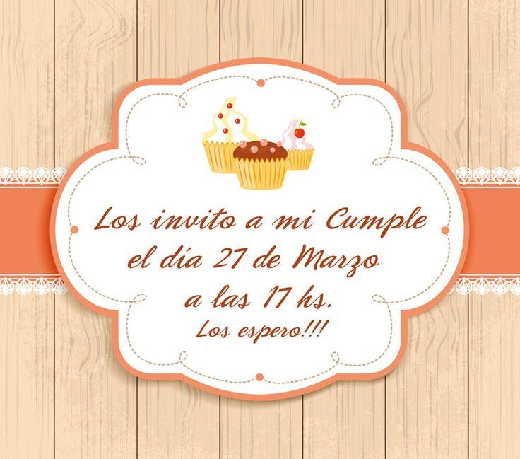 Invitación de Cumpleaños para Nena! | Kits Imprimibles ...