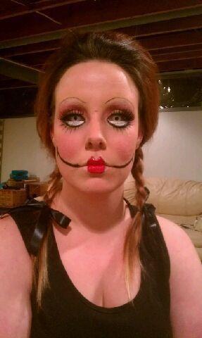Ugly beautiful makeup