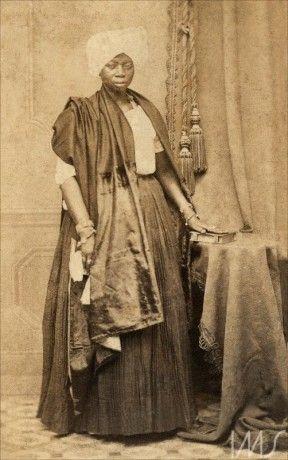 Escrava doméstica, 1870 (Foto: João Goston)