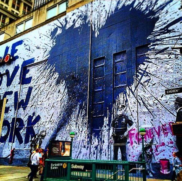ea3f507f Incredible street art & Graffiti in New York | Fat Kids Cake ...
