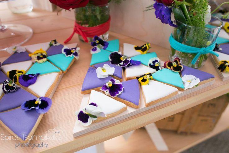 girl #baptism #decoration #candytable #springtheme #bisquits  #flowers #destinationeventplanners #Rhodes #Greece
