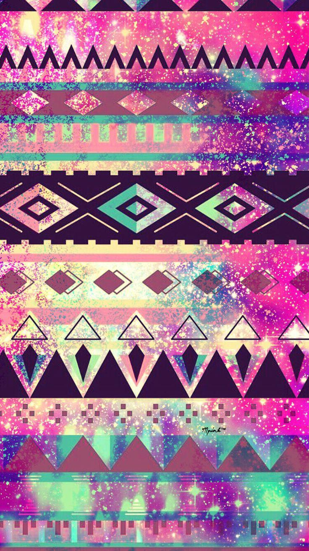 Tribal Galaxy Wallpaper