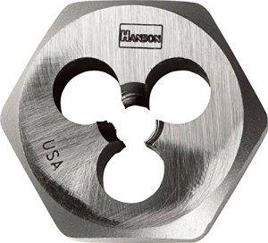 Hanson Matrice de filetage hexagonale 10 X 1,25 mm 9739