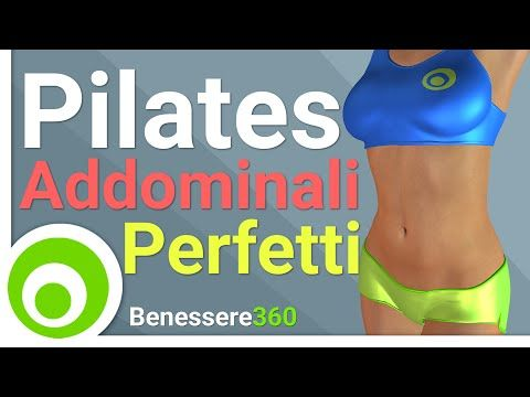 Pilates Addominali Perfetti - 10 Minuti di Esercizi - YouTube