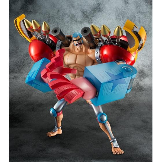 "Excellent Model LIMITED Portrait.Of.Pirates ""One Piece"" SA-MAXIMUM Armored Franky #POP #OnePiece #Figure #Otacute"