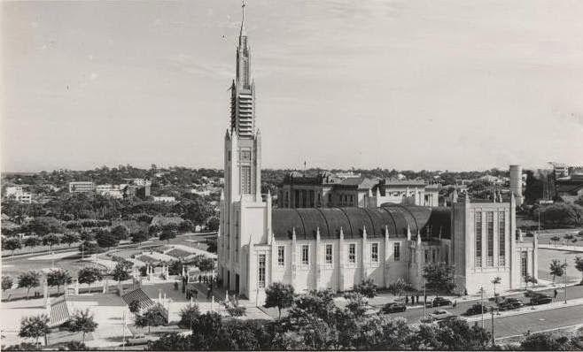 MOZAMBIQUE OLD IMAGES: Postal anos 1950 LOURENÇO MARQUES - CATEDRAL - MOÇAMBIQUE AFRICA MOZAMBIQUE LOURENÇO MARQUES CATHEDRAL