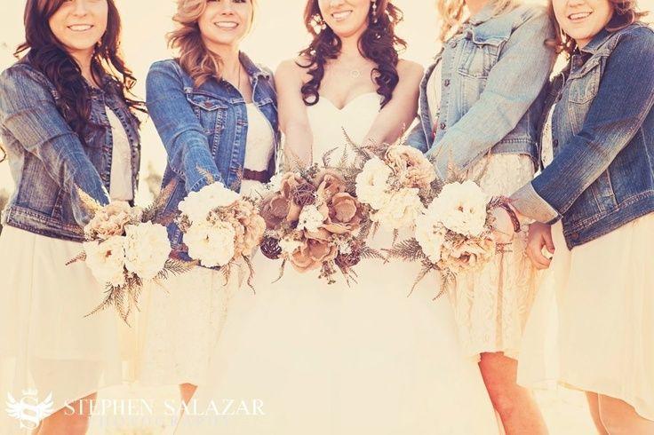 Best 25+ Denim Bridesmaid Dresses Ideas On Pinterest