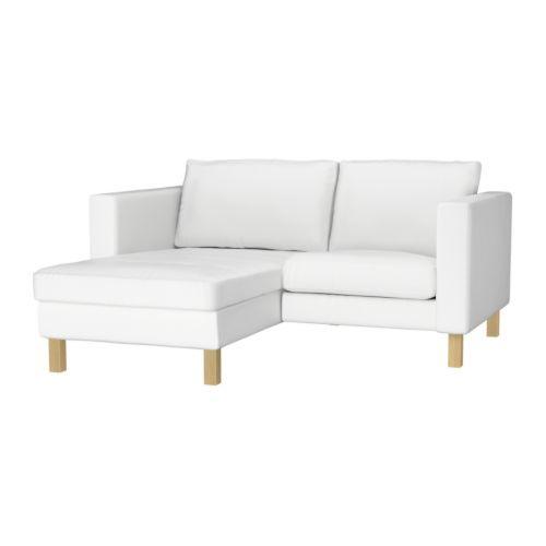 Good KARLSTAD Fauteuil en chaise longue Blekinge wit IKEA