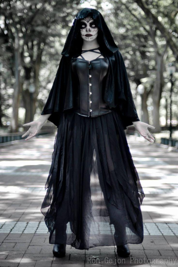 Mistress Death: Nix Nox Cosplay, photo by Ron Gejon photography