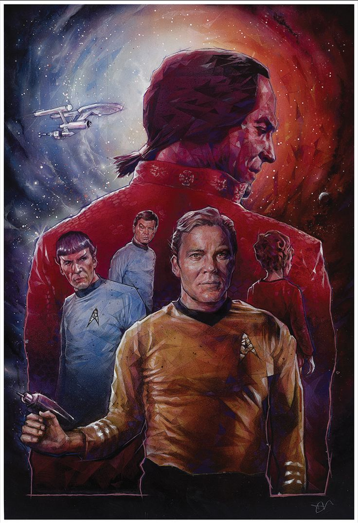 Space Seed by Dave Merrell #startrek #tos #art