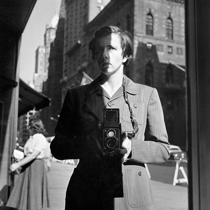 Self-Portraits | Vivian Maier Photographer - Self-Portrait; October 18, 1953, New York, NY