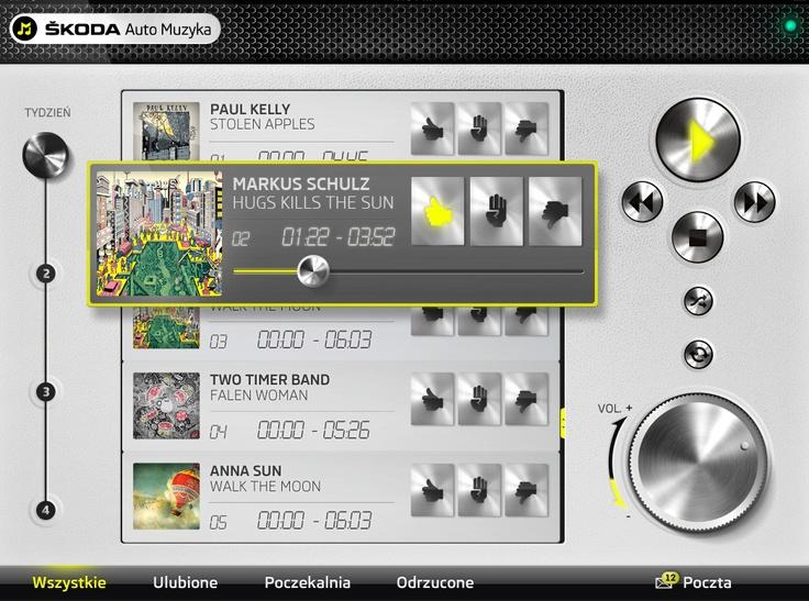 ŠKODA Auto Music. An application for the jury members to vote. GoldenSubmarine