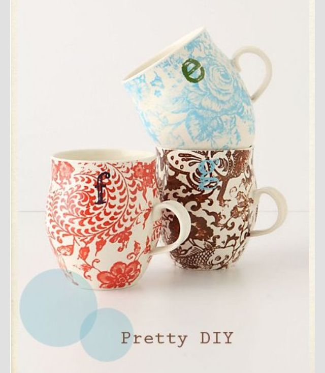 pretty diy sharpie mug designs creations to try pinterest mug designs sharpie mug designs. Black Bedroom Furniture Sets. Home Design Ideas