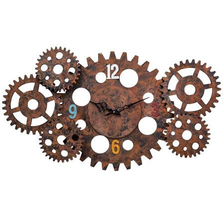 The Industrial Home Gear Wall Clock, $50 !!