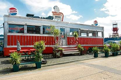 A true hidden gem, Fatboy's first opened in 1941 in New Jersey. The bus-shaped diner ended up in London in the Nineties after trucking around the US for decades.