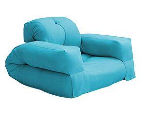futon poltrona multifunzionale hippo single turchese. Black Bedroom Furniture Sets. Home Design Ideas